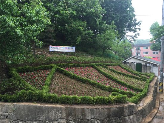 까치산 테마꽃밭
