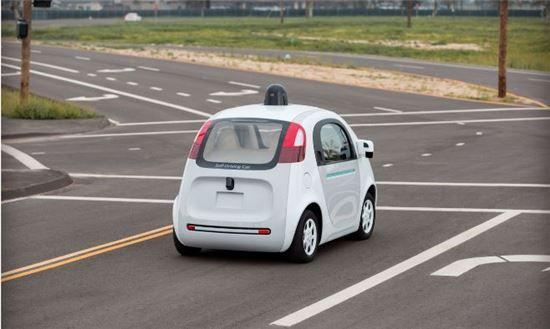 구글의 자율주행차(참고사진)