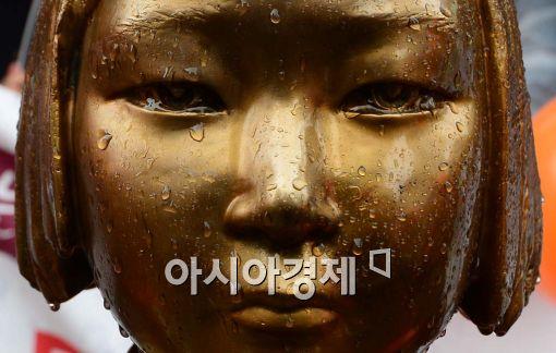 '위안부 합의' 여파…朴 부정평가 '4주 연속' 상승