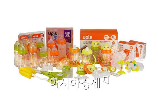 보령메디앙스, 수유용품 브랜드 유피스 중국 진출
