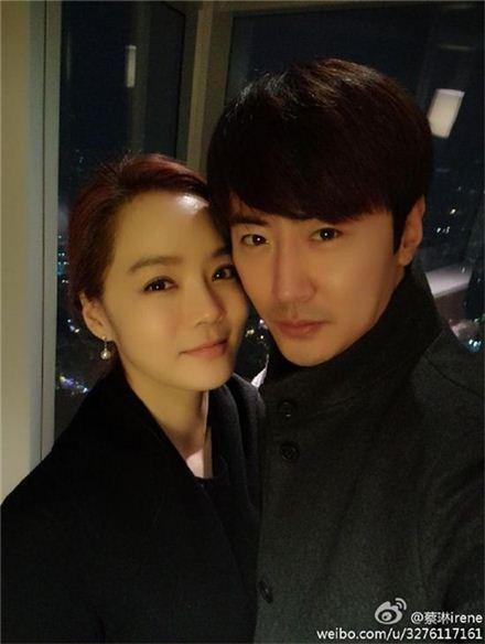 채림 가오쯔치 부부. 사진=채림 웨이보