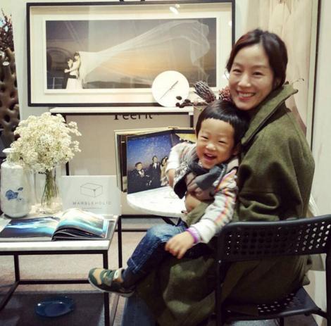 문정원과 아들 이서준. 사진=문정원 인스타그램 화면 캡처