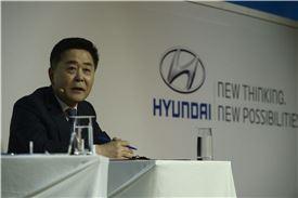 곽진 현대자동차 국내영업담당 부사장.