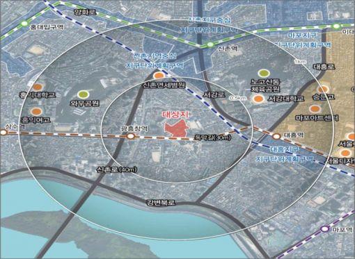 마포 신수동에 지역주택조합·시프트 465가구 건립