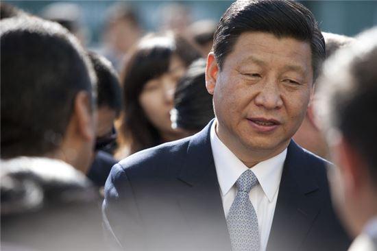 시진핑(習近平) 중국 국가주석.<사진:블룸버그>