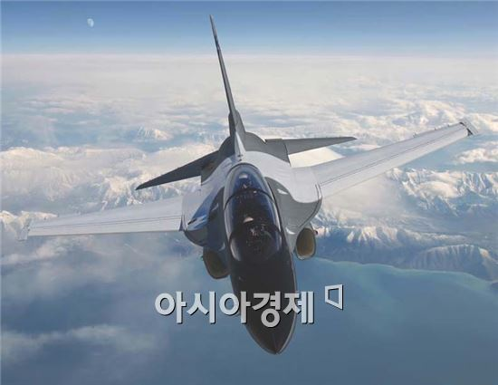 한국항공우주산업(KAI)이 공개한 미 수출용 훈련기
