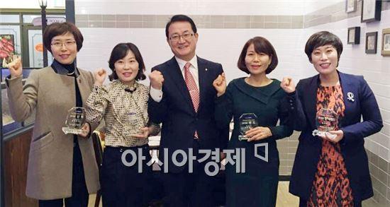 NH농협은행 전남영업본부 마케팅 Super HERO 6명 선정 시상