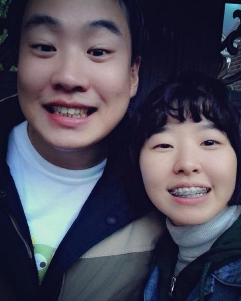 안재홍 이민지. 사진=이민지 인스타그램