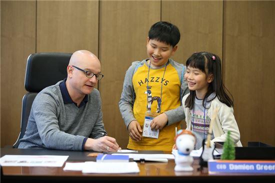 메트라이프생명 '어린이 사원 체험 행사' 열어