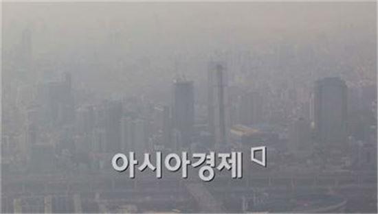 미세먼지 농도 '나쁨'<사진=아시아경제DB>