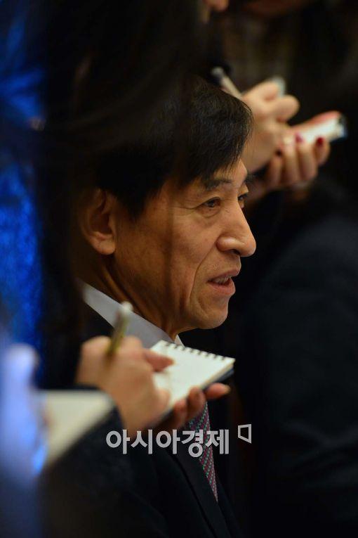 [포토]발언하는 이주열 한국은행 총재