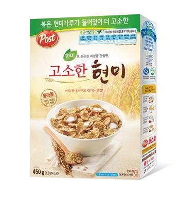 동서식품, '포스트 고소한 현미' 출시