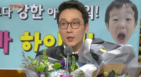 연예대상 이휘재. 사진=KBS2 방송화면 캡처