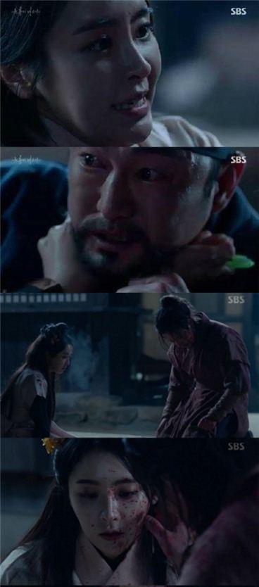 변요한, 허준석, 정유미. 사진=SBS '육룡이 나르샤' 방송화면 캡처