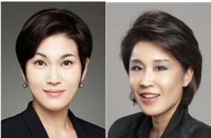삼성물산 패션부문 사장(좌), 정유경 신세계 백화점부문 총괄사장