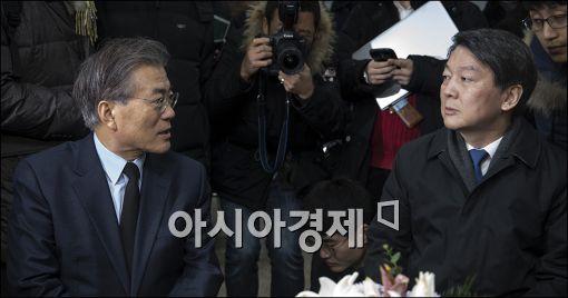 """""""20일 野 정치지도자 회동…文·安·李·朴·金 회동"""""""