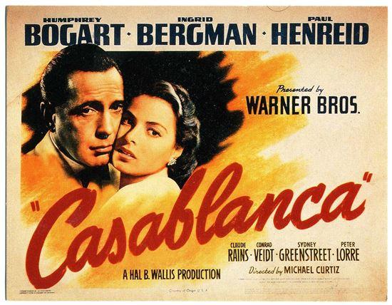 영화 '카사블랑카' 포스터