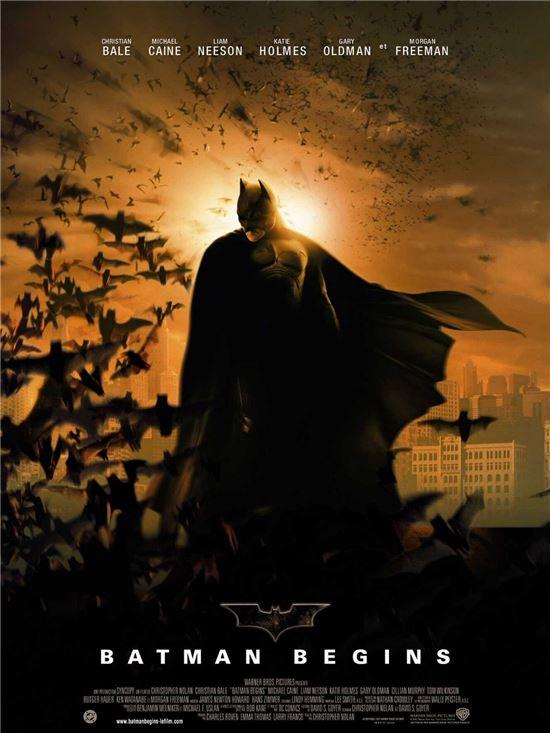영화 '배트맨 비긴즈' 포스터