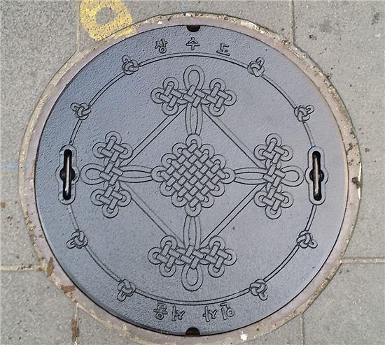 상수도 맨홀 디자인