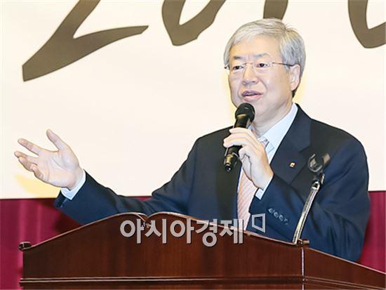 김한 광주은행장