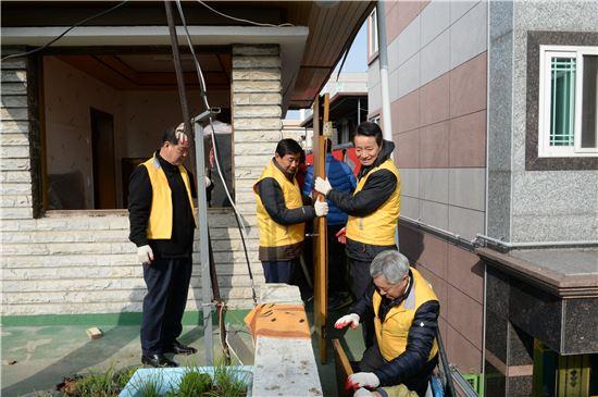 광주 남구, 새해 첫 업무 희망주택 공사 현장서 시작