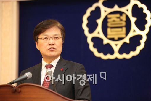 [포토]신년사하는 최양희 장관