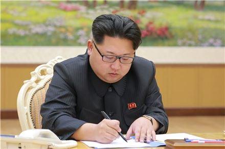 김정은.  사진=평양 조선중앙통신(연합뉴스)