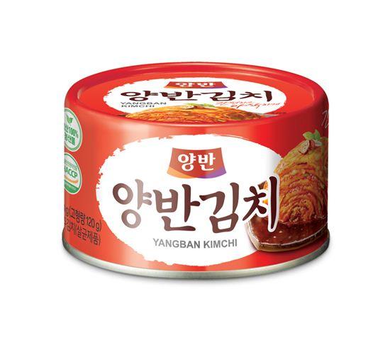 캔에 담아 더욱 간편한 동원F&B 양반 캔김치
