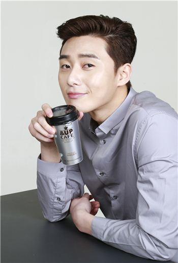 일동후디스, 배우 박서준과 커피 모델 계약 체결