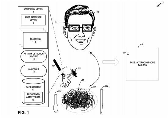 구글이 지난 7일(현지시간) 취득한 특허(사진=미국 특허청)