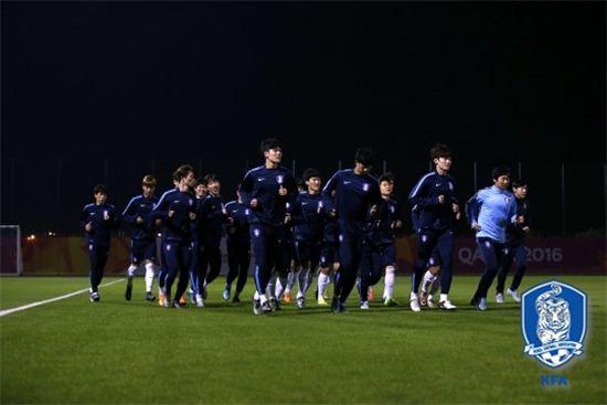 한국 올림픽 축구대표팀 / 사진=한국축구협회 제공