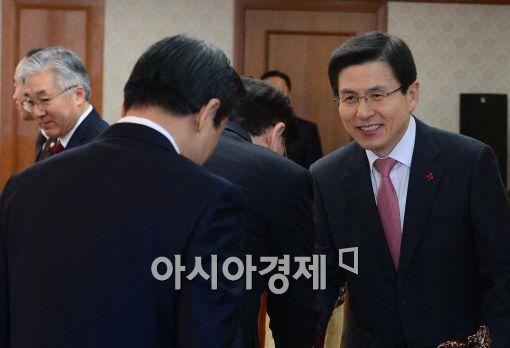[포토]황 총리의 신년인사