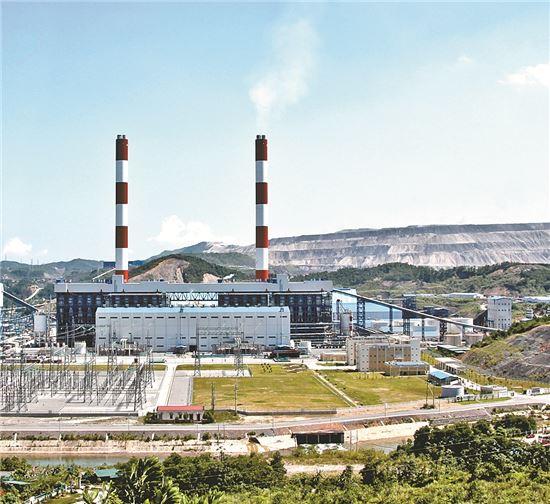 베트남 몽정1 화력발전소 전경.