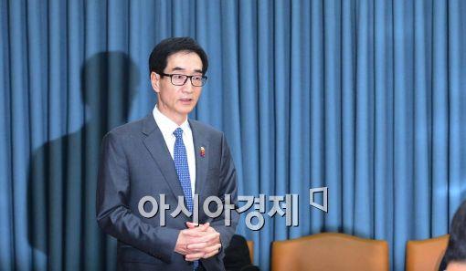 [포토]긴급 사회관계장관회의 소집한 이준식 부총리