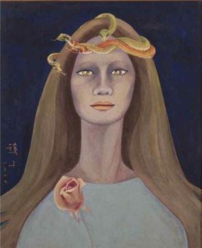천경자, '내 슬픈 전설의 22페이지', 1977년