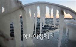 서울에 5년 만의 '한파경보'가 내렸다.