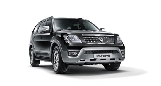 기아차의 플래그십 스포츠유틸리티(SUV) 더 뉴 모하비