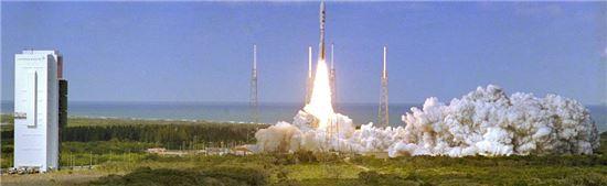 ▲2006년 1월19일 뉴호라이즌스 호가 발사됐다.[사진제공=NASA]