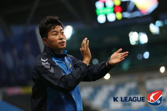 인천 유나이티드 김도훈 감독, 사진=한국프로축구연맹 제공