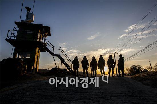 지난해 1월부터 7월까지 육ㆍ해ㆍ공ㆍ해병대 전체 입영경쟁률은 평균 7.5대 1에 달했다.