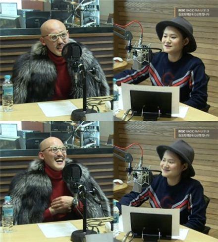 황재근. 사진=MBC FM4U '정오의 희망곡 김신영입니다' 보이는 라디오 캡처