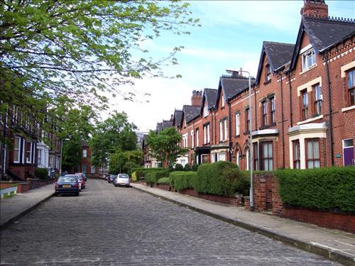 영국의 테라스 하우스 모습. 사진=위키피디아 캡처