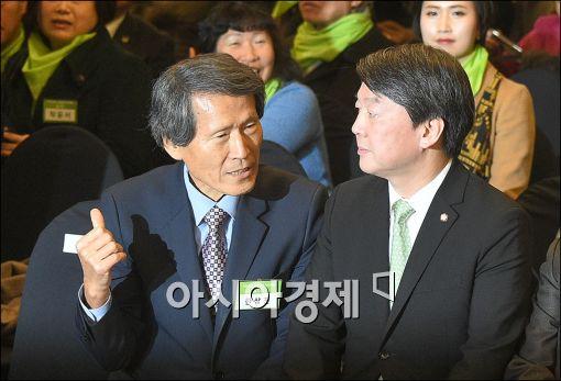 '이승만 국부論' 파문…安 '국민의당' 지지율 3.7%p 하락