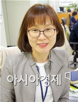 우산동 이지영 주무관