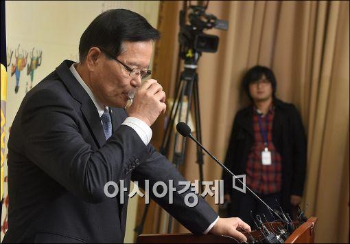[포토]속타는 정의화 국회의장