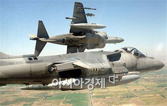 대만 판매설이 제기된 미해병대의 해리어2 플러스 전투기