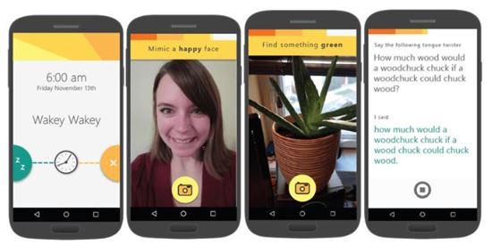 MS의 알람 앱 '미믹커(Mimicker)'