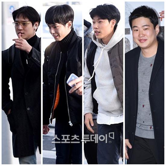 '응팔 4인방' 박보검 류준열 고경표 안재홍, 푸켓서 나영석PD에 납치