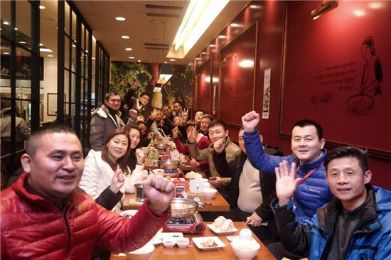 원앤원, 중국 외식산업 시찰단 투자 설명회 개최