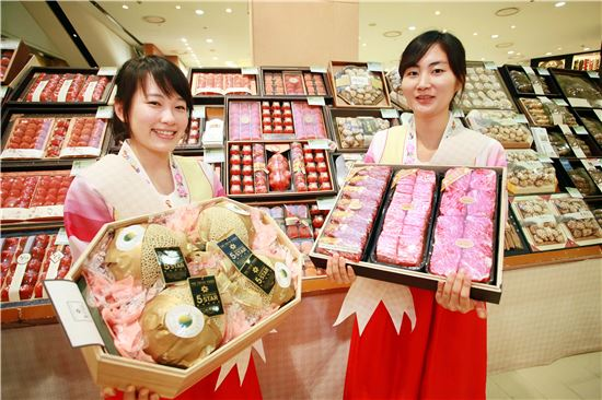 신세계百, 설 선물 예약판매 25% 신장…본판매 돌입